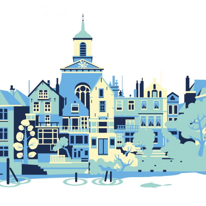 Monumentale gebouwen Dordrecht